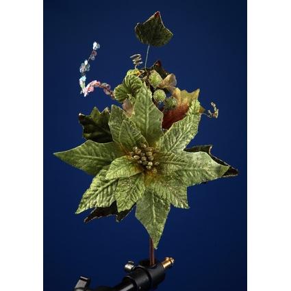 Новогоднее украшение «Цветок»