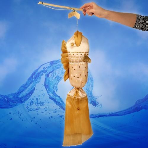 Мешочек для денег Золотая рыбка