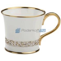 Фарфоровая чашка с кристаллами Giovanni