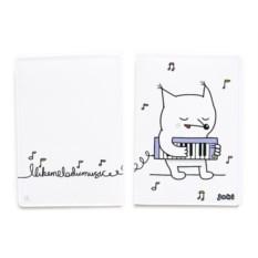 Обложка для паспорта Melodic fox