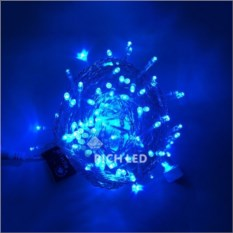 Синяя светодиодная гирлянда 10 м