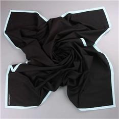 Черное хлопковое парео Calvin Klein
