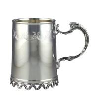 Кружка для воды, серебряная