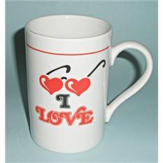 Фарфоровая кружка День влюбленных