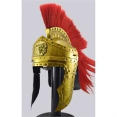 Преторианский шлем с красным плюмажем