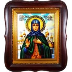 Евдокия Московская великая княгиня. Икона на холсте.