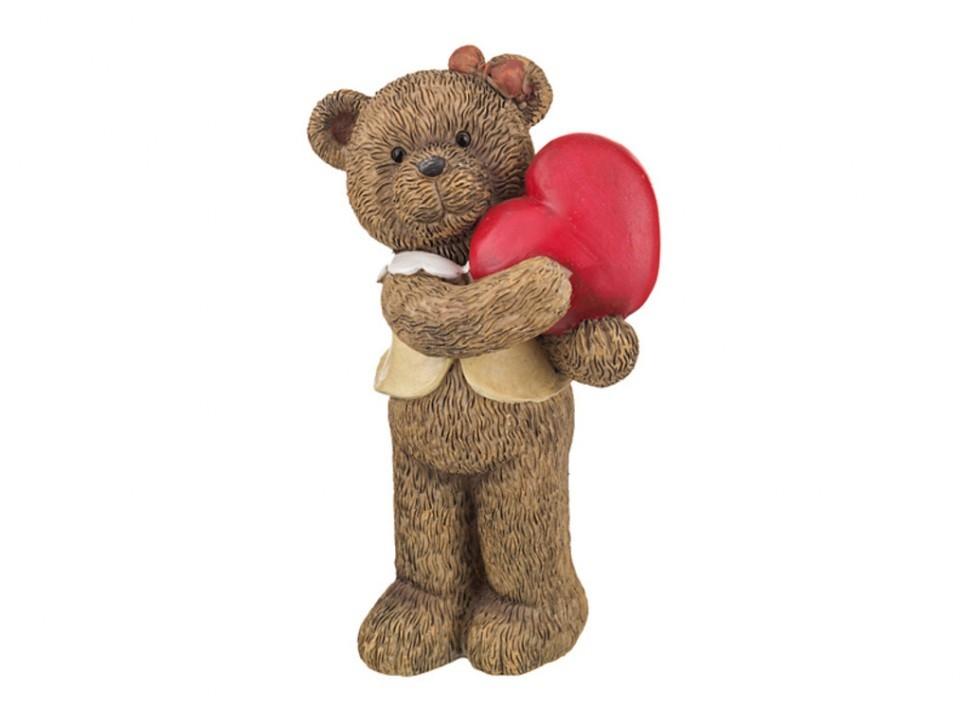 Фигурка Медвежонок с сердцем