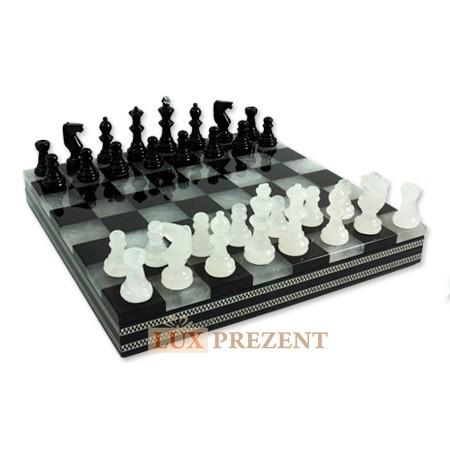 Шахматы из мрамора Классика