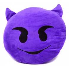 Подушка Смайлик демон