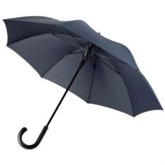 Темно-синий зонт-трость Alessio, антишторм