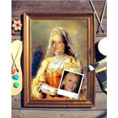 Портрет по фото Боярыня