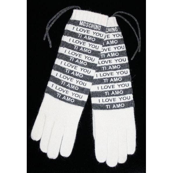 Перчатки Moschino