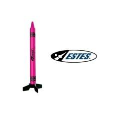 Многоразовая модель ракеты Pulsar pink crayon rocket rtf