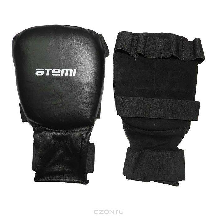 Перчатки для карате ATEMI, черные. Размер XL