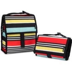 Сумка-холодильник для обеда Lunch bag Surf Stripe