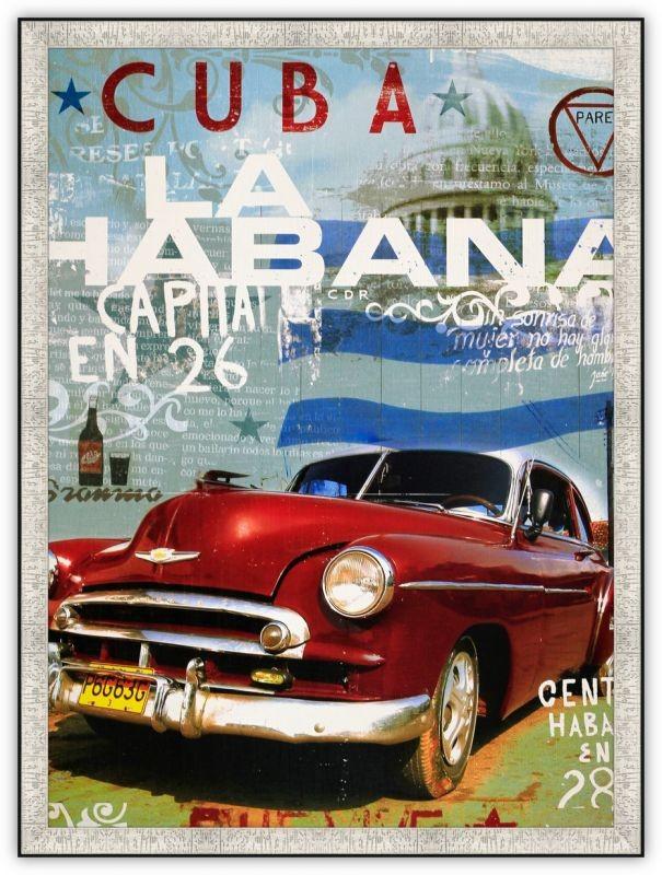 Постер Кубинский автомобиль
