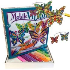 Воздушный витраж «Бабочки»