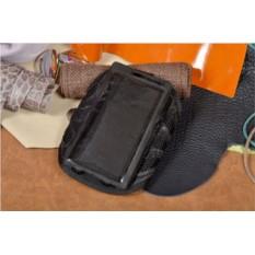 Универсальный черный cпортивный чехол на руку для телефона
