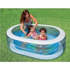 Надувной овальный бассейн INTEX для детей от 6 лет
