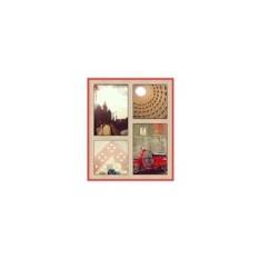 Панно для фотографий FOTOBLOCK красное