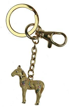 Брелок для сумочки и ключей в виде лошади