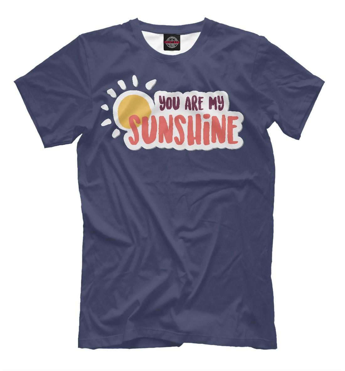 Мужская футболка You Are My Sunshine