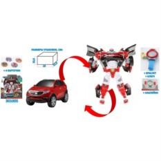 Игрушка с наклейками Трансформер Mini Tobot Z