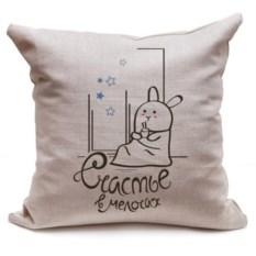 Декоративная подушка Кроль под пледом