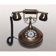Деревянный телефон с кнопками Kit