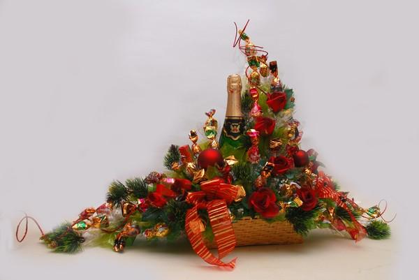 Букет из конфет Новогоднее торжество