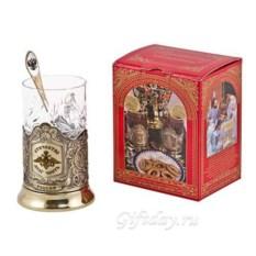 Набор для чая Отечество в картонной коробке