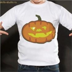 Именная футболка Тыква