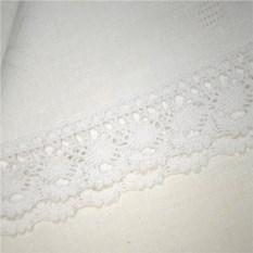 Белая жаккардовая скатерть (160х150 см)