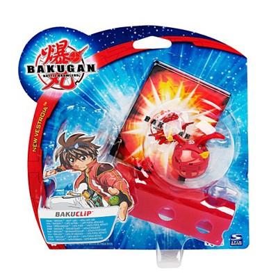 Игрушка Bakugan набор с обоймой красный