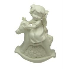 Фигурка Ангел на лошадке