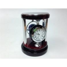 Настольный прибор: часы и компас