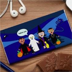 Шоколадная открытка Монстрики