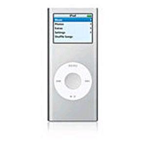 MP3 плеер Apple ipod nano 2G SILVER-2ND GEN-ZDD