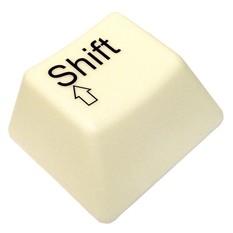 USB Светильник Кнопка от клавиатуры SHIFT
