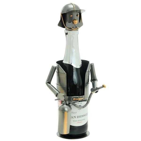 Подставка для бутылки Пожарный со стволом А.
