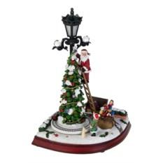 Новогоднее светящееся украшение Звезда на елку