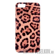 Чехол для IPhone 5 Леопардовый принт