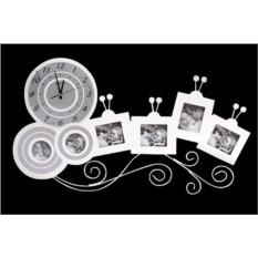 Часы с фоторамками «Лиана»