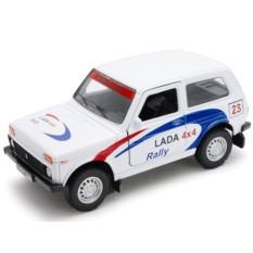 Модель машины Welly LADA 4x4 Rally