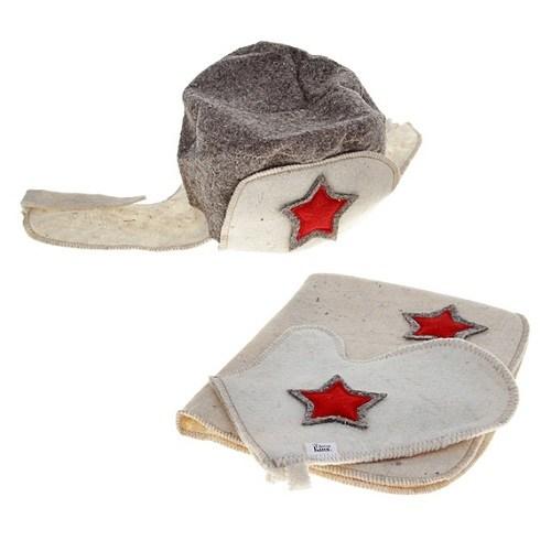 Набор для бани Красноармейский зимний