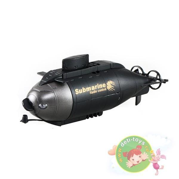 Подводная лодка на радиоуправлении Black Submarine