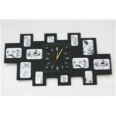 Настенные часы-фоторамка Большая семья XL
