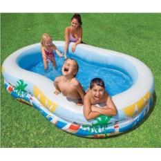 Надувной бассейн INTEX Райская Лагуна