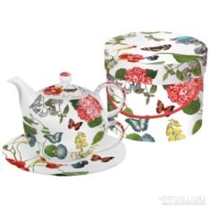 Чайный набор в подарочной коробке Victoria garden