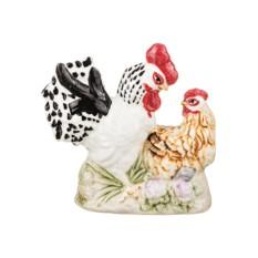 Фигурка Петух с курицей